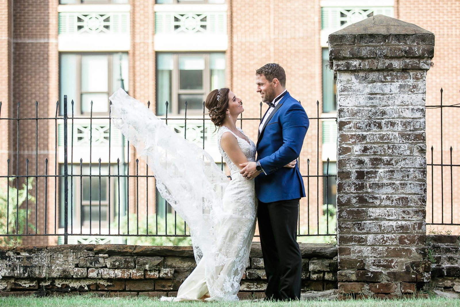 Fall Savannah Wedding Charles Morris Center