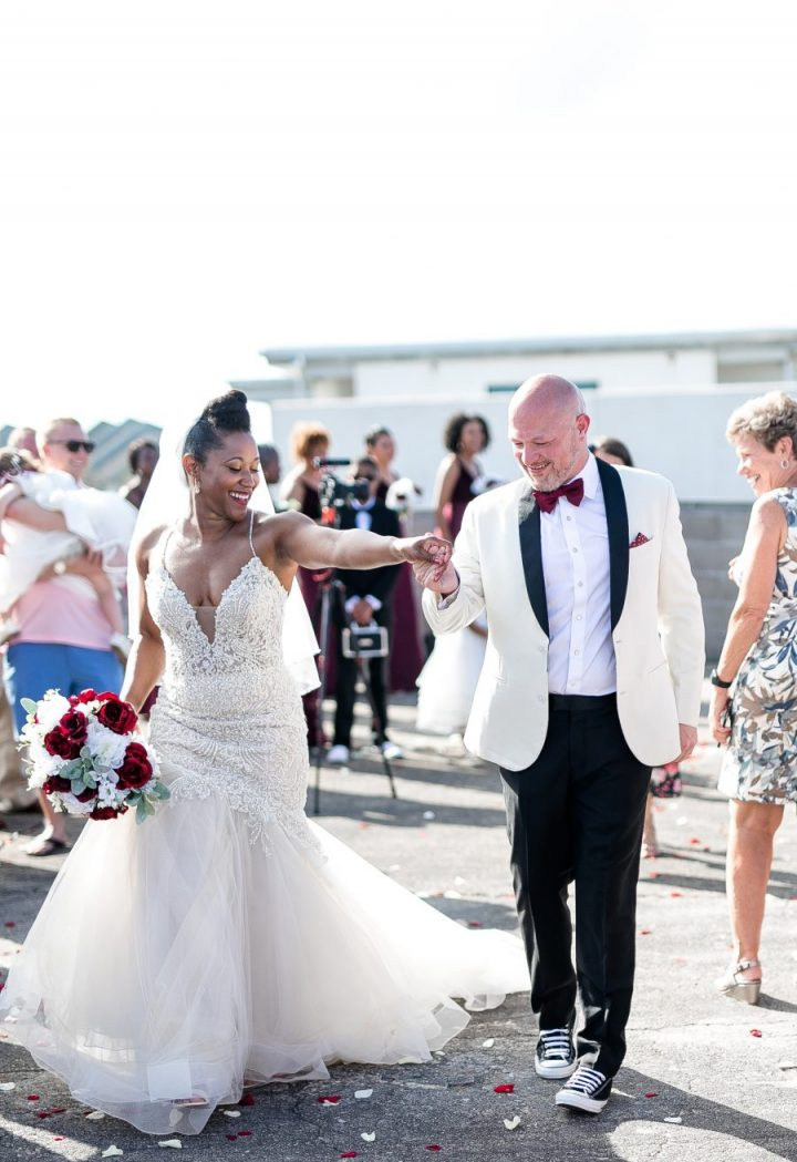 NFL-Podcast-Chris Wessling-bride Lakisha Wessling- Married- tybee island, Ga-shriners club